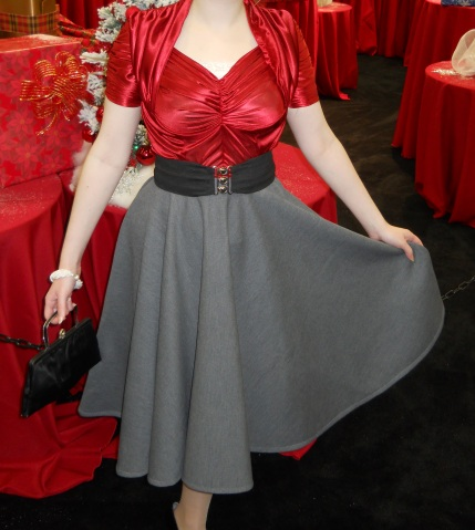 ruched-red-blouse
