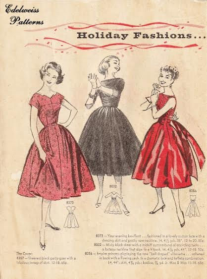From a vintage pattern catalog in my collection.