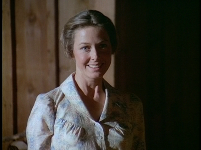 "Karen Grassle as Ma Ingalls in ""Little House"" tv show"
