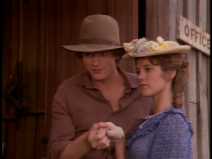 "Almanzo Wilder in the ""Little House on the Prairie"" TV series"