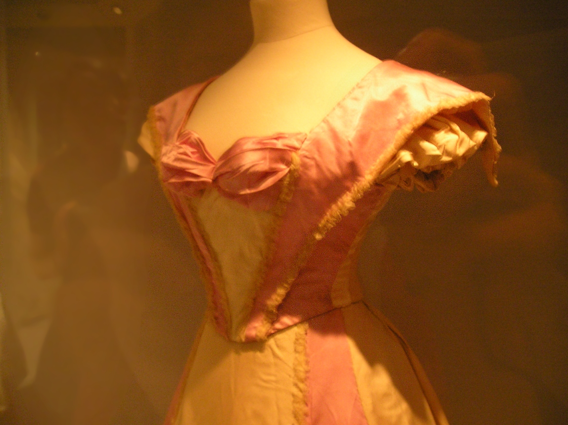 Edwardian dress bodice