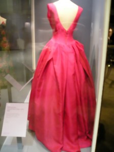 v-back formal gown
