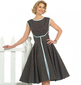 Vintage-Butterick-dress-pattern