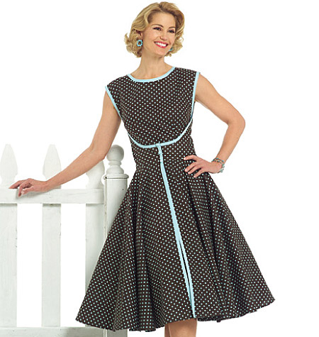 Vintage-butterick-dress