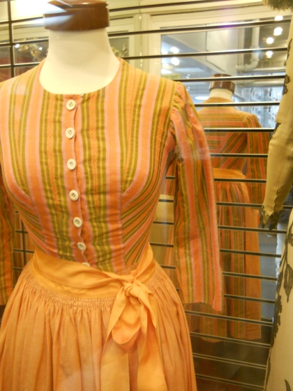 julie-andrews-striped-dress-sound-of-music