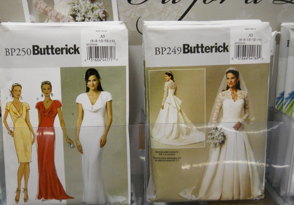 Butterick Royal Wedding Dress Pattern For Catherine's Gown Beauteous Wedding Gown Patterns