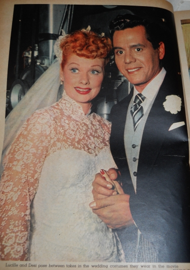 I love lucy costumes in remembrance of her 100th birthday for Lucille ball wedding dress