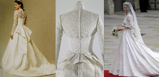 Princess Catherine 39 S Wedding Dress Pattern Giveaway B5731