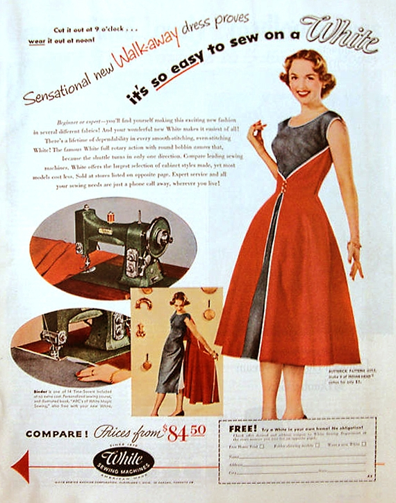 butterick-walkaway-dress-1950s-advertisement