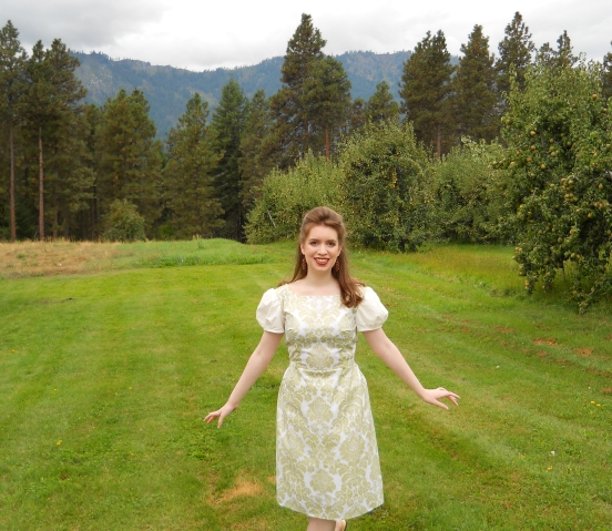 Liesl's Curtain Dress - Sound Of Music Playclothes Costumes