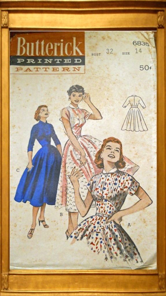 vintage-butterick-1950s-dress-patterns