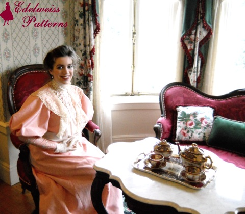 victorian-lady-at-tea