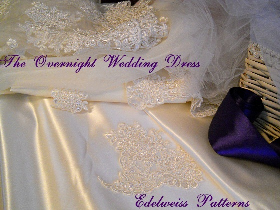 The Overnight Wedding Dress