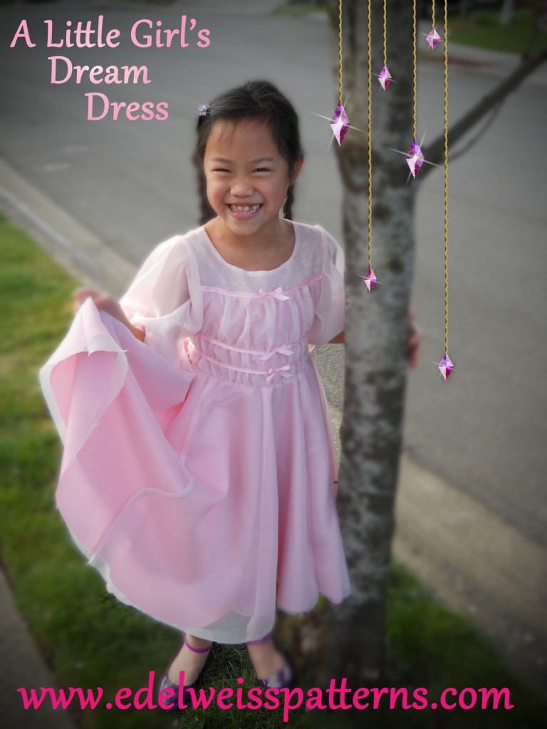 pink-chiffon-girl's-dress-costume