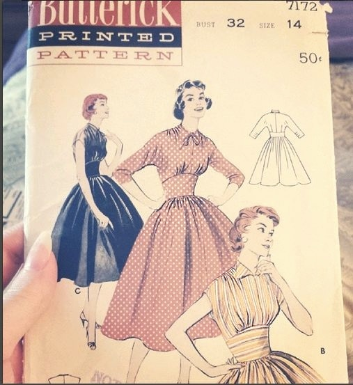 butterick-1950s-pattern