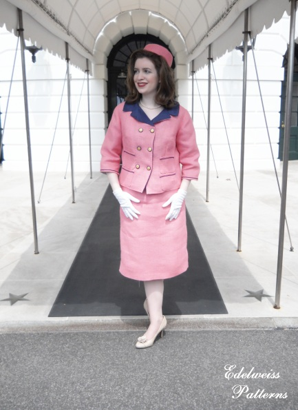 My Jacqueline Kennedy Suit ~ At The White House! | Edelweiss