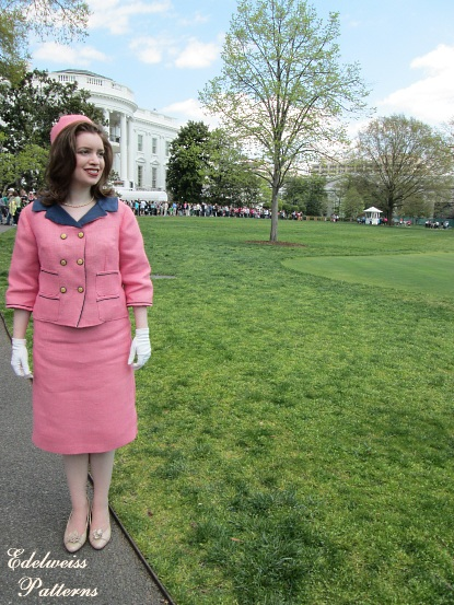 Cool My Jacqueline Kennedy Suit At The White House Edelweiss Hairstyles For Women Draintrainus