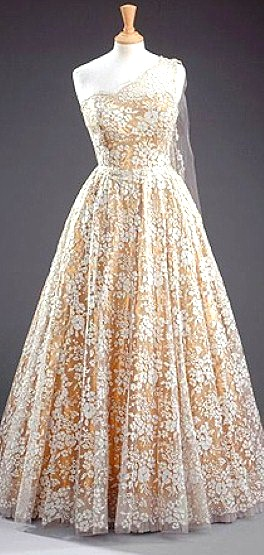 Queen Elizabeth 1950s Gown