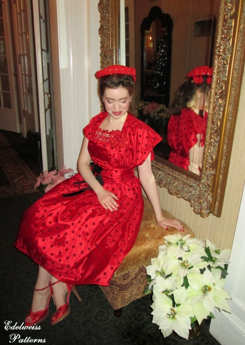 taffeta-red-dress