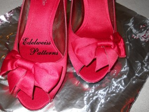 red-satin-bow-shoes