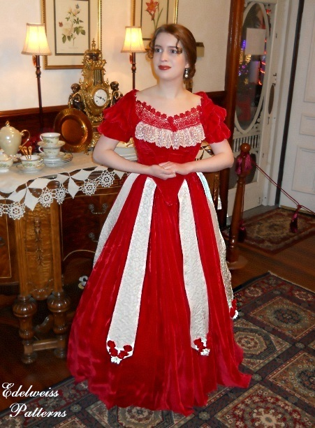 victorian-christmas-ball-gown