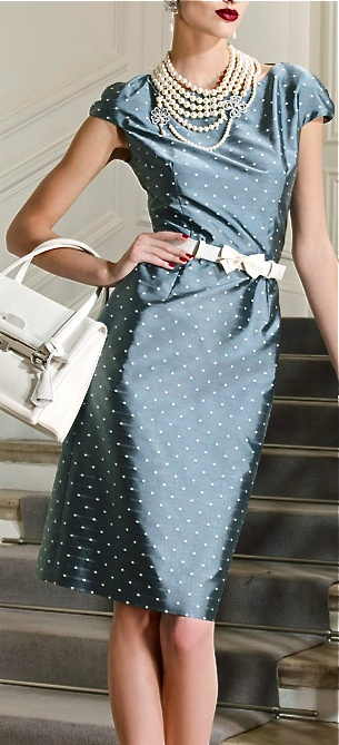 dior-polka-dot-dress