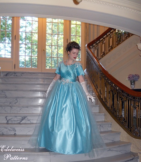 tiffany-blue-evening-gown