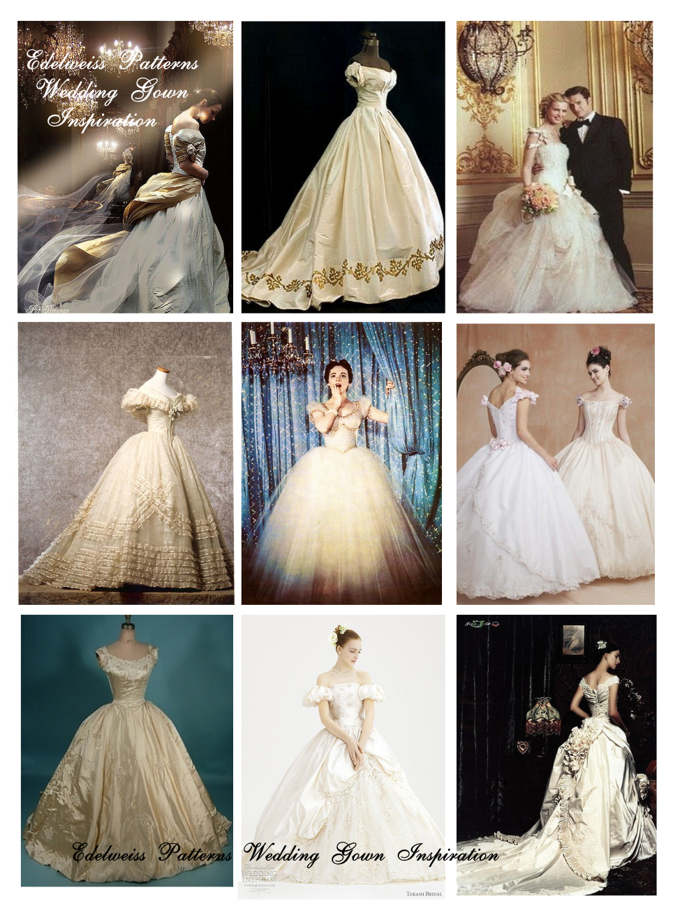 How i sewed my wedding dress edelweiss patterns blog ballgown wedding dress jeuxipadfo Image collections