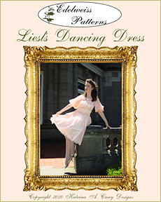 liesl's dancing dress, liesl von trapp dress, liesl's pink dress, sound of music costume