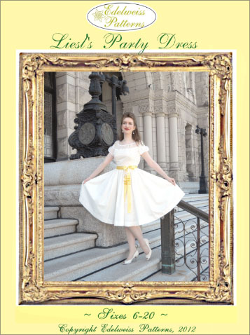 Edelweiss Patterns Sound Of Music Costume Patterns